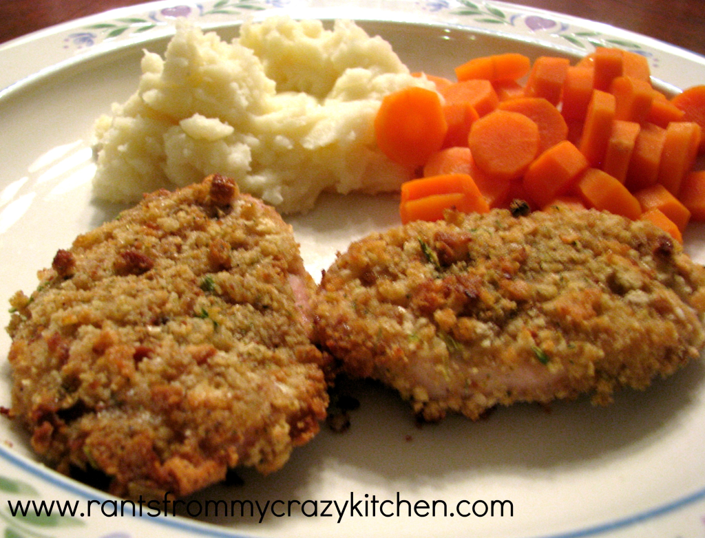 Honey Herb Pork Chops - Rants From My Crazy Kitchen