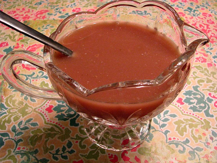 Strawberrry Dijon Glaze