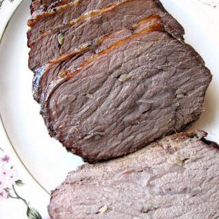 Garlic Roast Beef Recipe