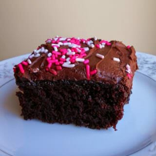 (Baking with Kids) Easy Chocolate Cake -Guest Post from Baking Outside The Box