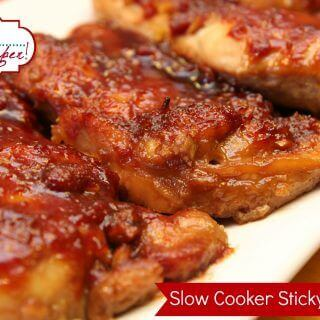 Slow Cooker Sticky Chicken -Guest Post from It's a Keeper
