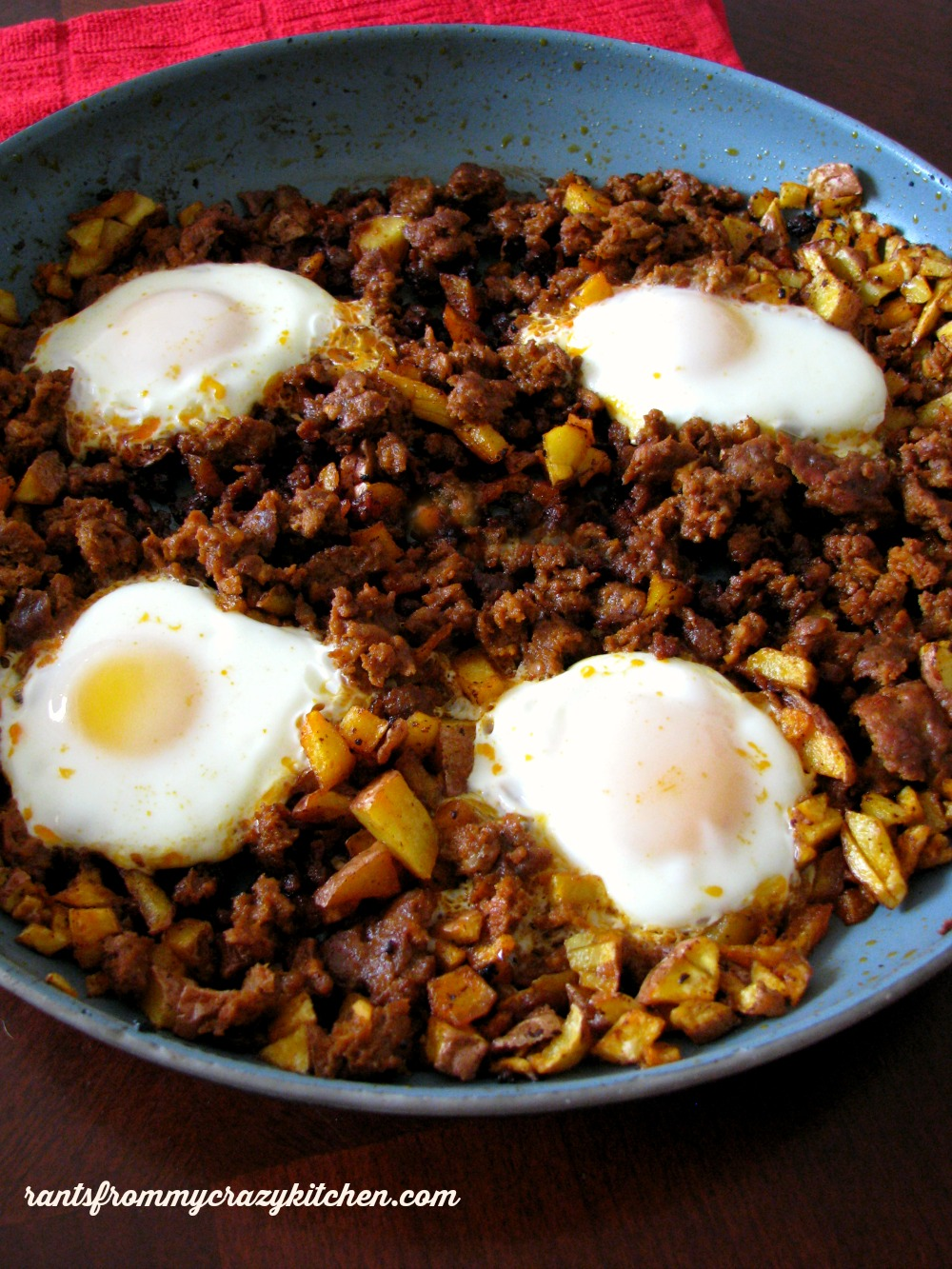 Eggs with Chorizo and Potatoes