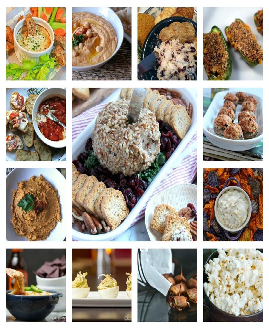 Finger Food Appetizers: 42 New Year's Eve Party Appetizers