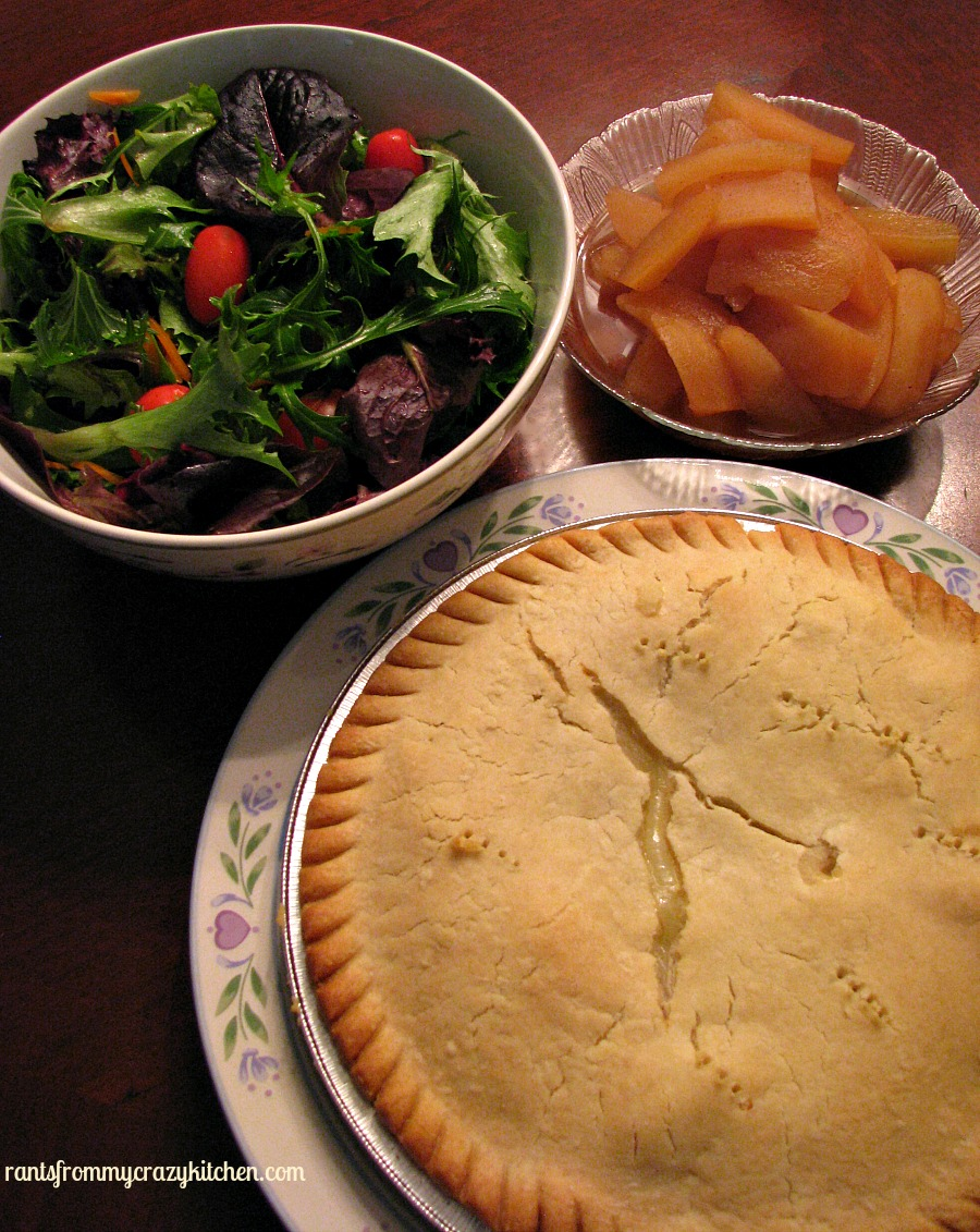 Complete Meal with Marie Callender Pot Pie