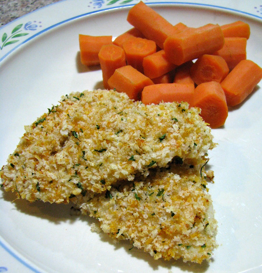 Simply seasoned and crunchy baked flounder recipe. Perfect for an easy weeknight dinner. Serve with steamed vegetables or a healthy salad for a complete, heart healthy meal without a lot of cholesterol or calories.