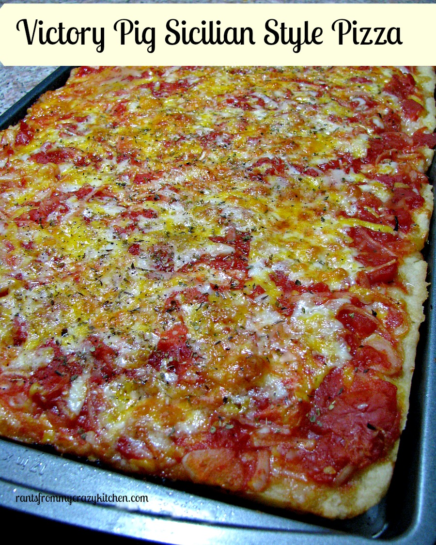 Victory Pig Sicilian Style Pizza