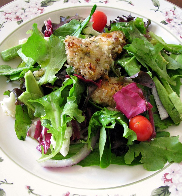 Honey Chicken Spring Salad