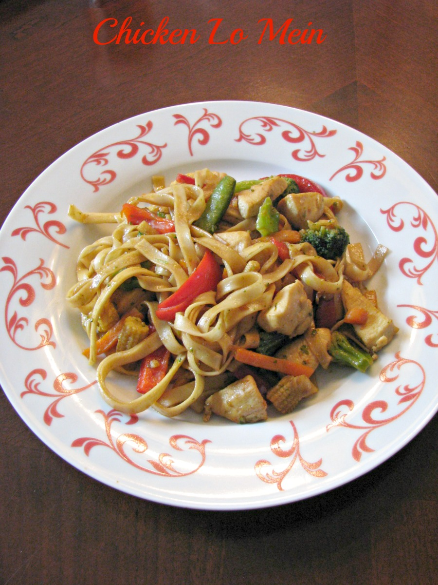 Chicken Lo Mein - Rants From My Crazy Kitchen