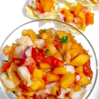 Shrimp and Papaya Salsa