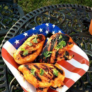 Maple Honey Sriracha Grilled Chicken