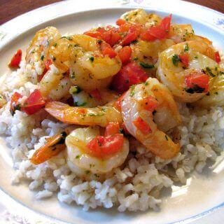 Shrimp and Bell Pepper Skillet Recipe