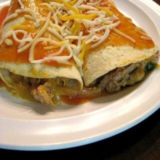 Slow Cooker Pulled Pork Enchiladas