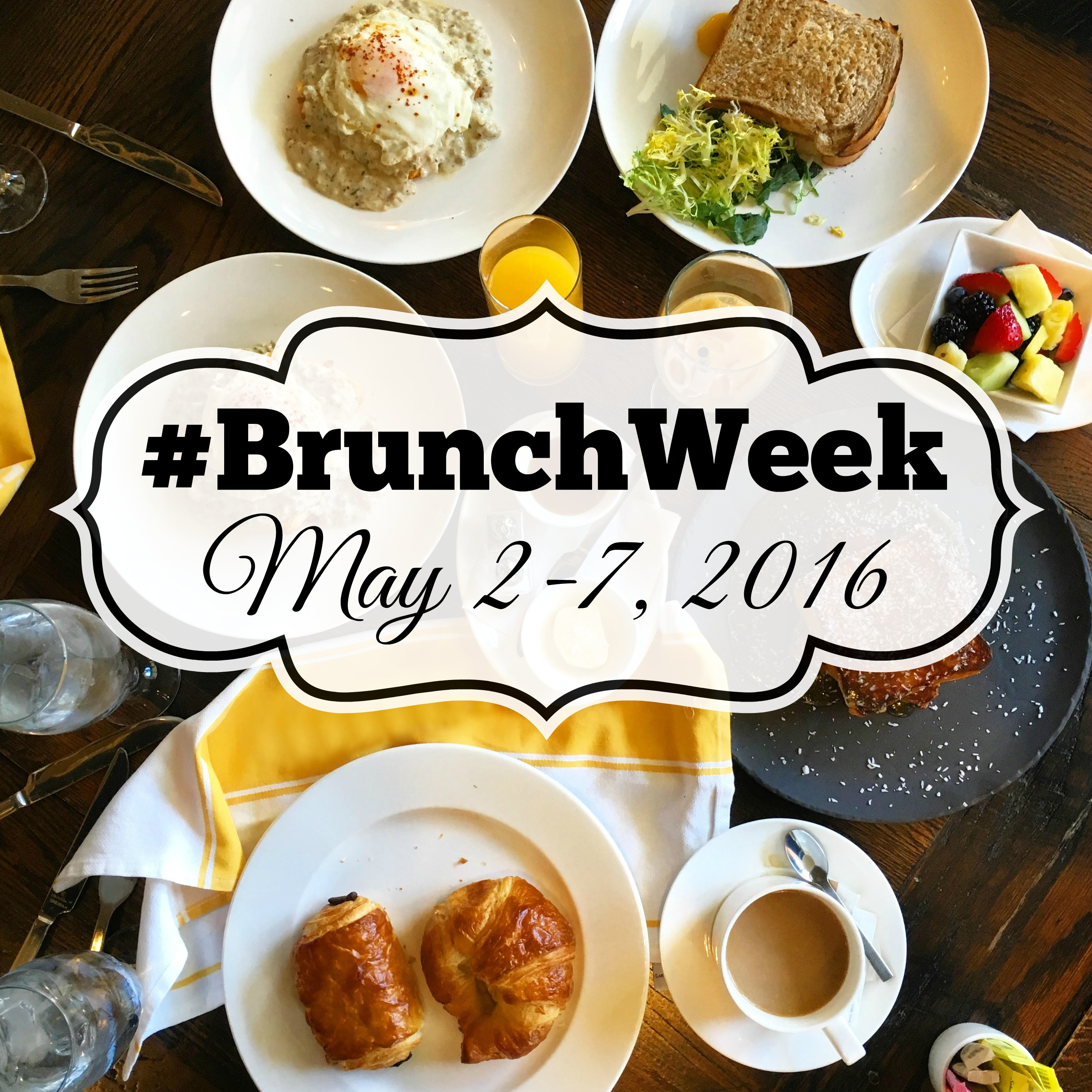 #BrunchWeek 2016