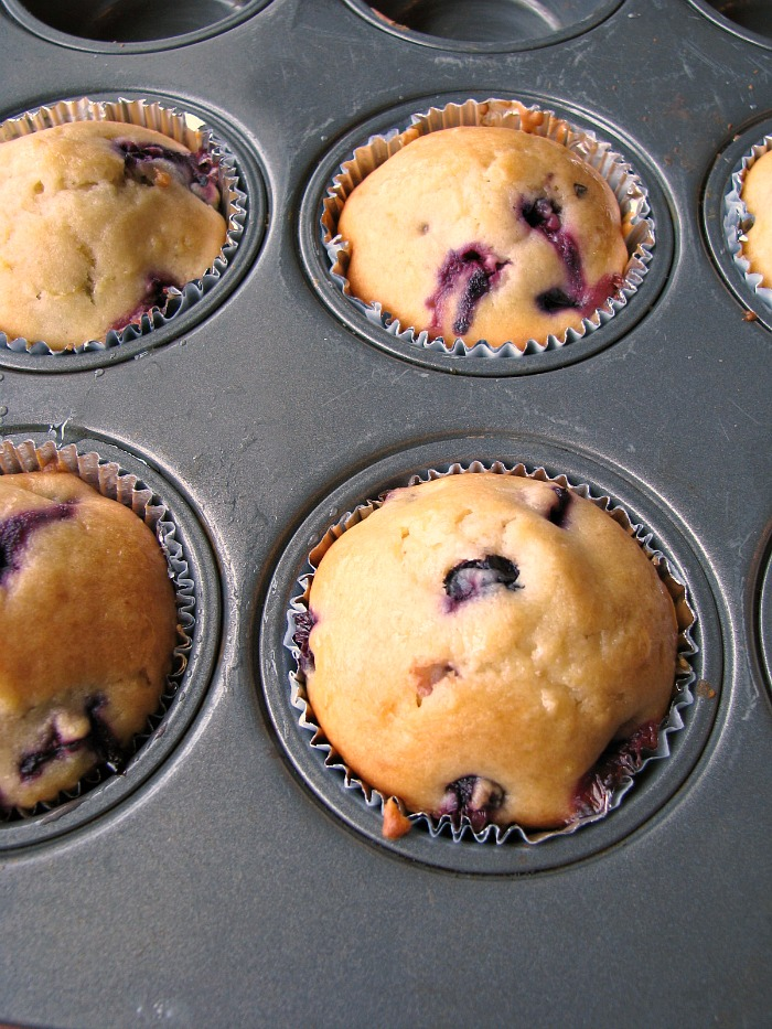 Lemon-Blueberry Cream Cheese Muffins #BrunchWeek - Rants From My Crazy ...