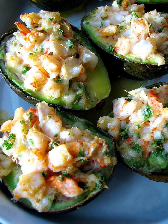 Baked Seafood Stuffed Avocados #BrunchWeek - Rants From My Crazy ...