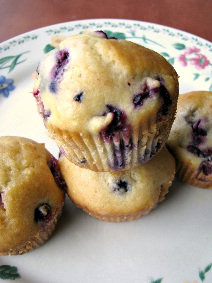blueberry muffins and just recently tried lemon blueberry muffins ...