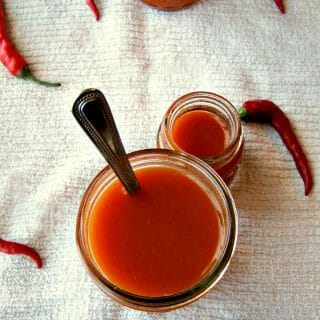 Homemade Cayenne Pepper Sauce