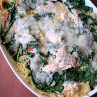 Baked Pasta Romana with Chicken