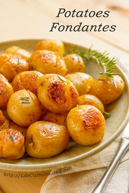 Potato Fondantes- Life Currents