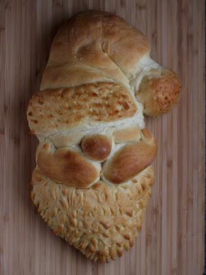 Santa Head Bread- Cookistry
